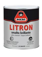 Smalto brillante Litron Boero, marrone, 750 ml.